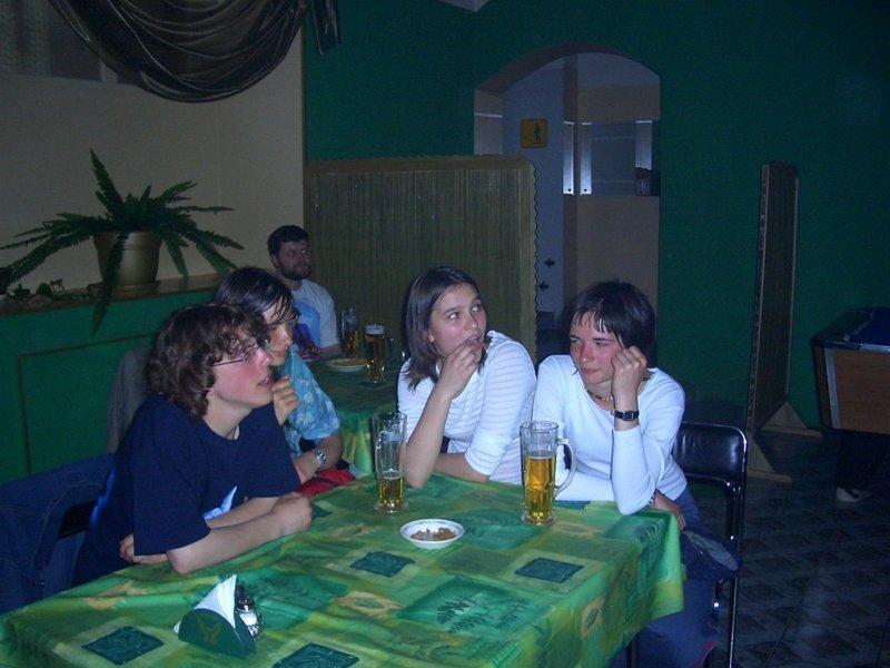 В перерыве - столик 2